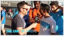 Fan Cam OM - LOSC (5-1) : Des supporters heureux qui ne lâchent pas Aulas ! (nouveau chant...)