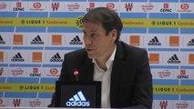 "34e j. - Garcia : ""Dijon-Lyon ? J'ai juste vu le penalty et le carton rouge contre Lyon"""