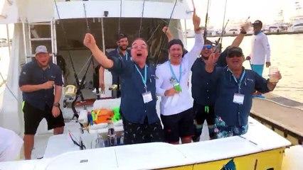 2018 Offshore World Championship Winning Team Celebration