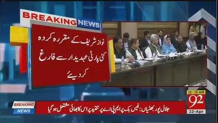 Shahbaz Sharif Ne PML-N Mein Ukhar Pachar Tez Kardi