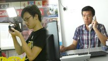Young people work hard to help candidates win GE14