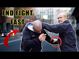 How to end a street fight fast