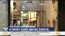 """Le Mont Saint-Michel évacué: """"Un individu a affirmé vouloir tuer des gendarmes"""", déclare le préfet de la Manche"""