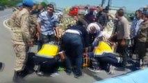 Manisa'nın Kırkağaç ilçesinde askerleri taşıyan midibüs ile TIR çarpıştı: 10'dan fazla asker yaralandı