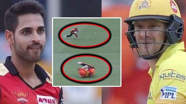 IPL 2018 CSK vs SRH : Shane Watson out for 9 runs, Bhuvneshwar Kumar strikes | वनइंडिया हिंदी