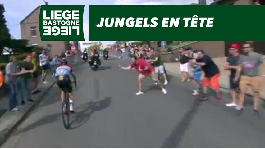 Jungels en tête - Liège-Bastogne-Liège 2018