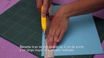 Decorar con tejido de papel | Cómo tejer con papel | @iMujerHogar