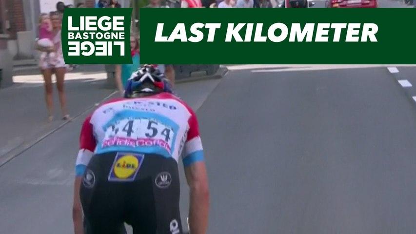 Last Kilometer - Liège-Bastogne-Liège 2018