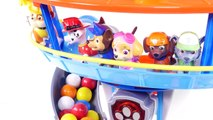 Mejores Videos para Niños Aprendiendo Colores - Patrulla de Cachorros Chicles Tobogan y Piscina