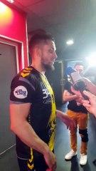 Handball   Interview : Quentin Minel après Chambéry-Göppingen (27-30)