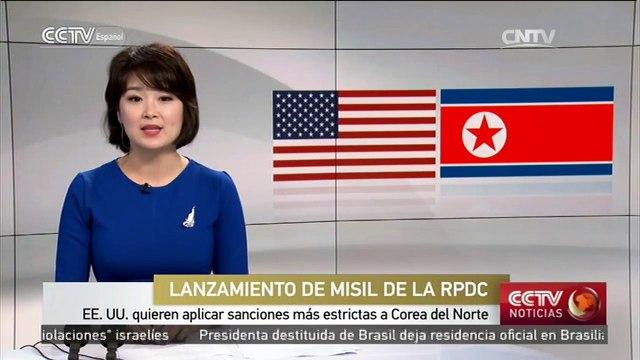EEUU quieren aplicar sanciones más estrictas contra RPDC