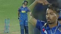 IPL 2018, MI vs RR : Ben stokes Bowled out for 40 run, Hardik Pandya strikes | वनइंडिया हिंदी
