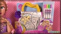 Raiponce Sac à Colorier Loisirs Créatifs Rapunzel Coloring Purse