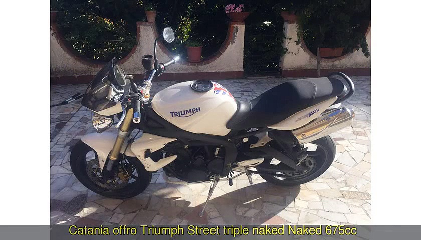TRIUMPH Street triple
