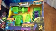 CAPSULE GÉANTE MARVEL AVENGERS INFINITY WAR  - Thanos Infinity Gauntlet, Nerf...