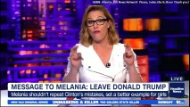 "S.E. Cupp Message to Melania Trump: ""LEAVE DONALD TRUMP"" @FLOTUS #Flotus #MelaniaTrump #DonaldTrump #Melania #Trump #CheatyTrump"