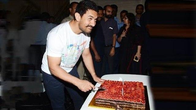 Aamir Khan CELEBRATES 51st BIRTHDAY With Media