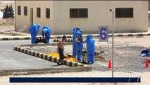 Les soldats jordaniens et américains ont réalisé un exercice militaire contre les attaques chimiques