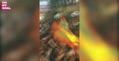 Le chant anti-Aulas des ultras de l'OM