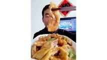 LET'S EAT SHOW COMPILATION-CHINESE FOOD-MUKBANG-challenge-Beauty eat strange food-asian food-NO.145