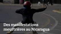 Nicaragua : manifestations meurtrières contre une tentative de réforme des retraites et scènes de pillage
