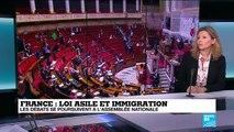 """Loi asile immigration: """"L''objectif de ce texte est de renforcer les droits des migrants"""""""