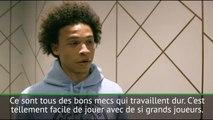 PFA - Leroy Sané : ''Tellement heureux de jouer avec de si grands joueurs''