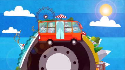 Weather Change (Sun Wind ) with Wheels On The Bus  | Song for Kids & Nursery Rhymes - KidsMegaSongs