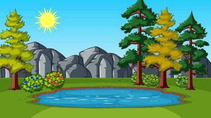 Цвета для детей - развивающий мультфильм Динозавр Учит цвета