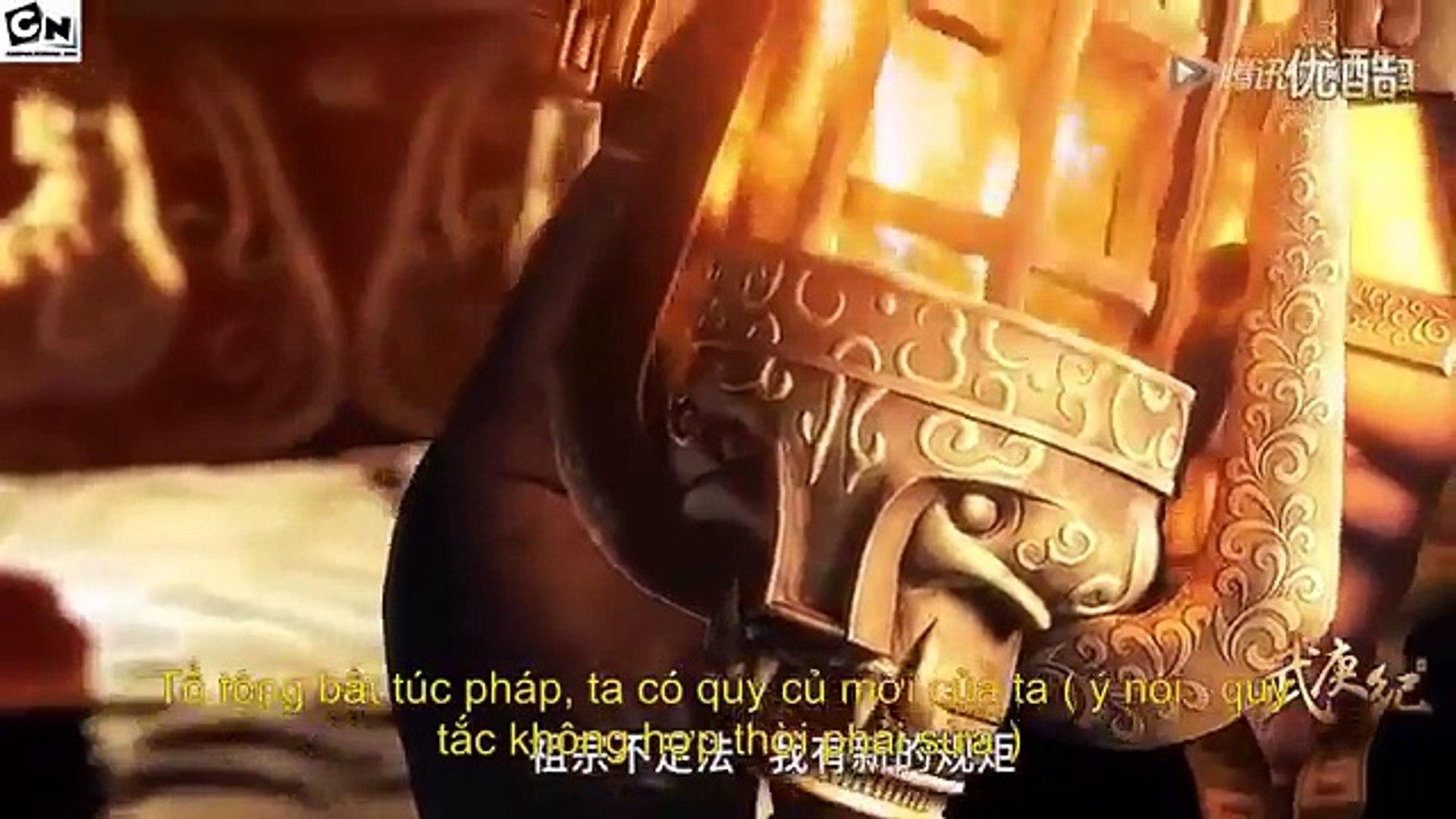 Phim Hoạt Hình Vũ Canh Kỷ phần 1 Tập 1 FULL- Nghịch Thiên Chi Quyết (2016) Wu Geng Ji | Phim Hoạt Hì