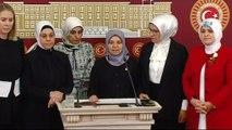 """AK Parti Konya Milletvekili Hüsniye Erdoğan: """"Kadınlara karşı yapılmış, kadın vekile karşı yapılmış hareketin kendisine yakışmadığını söylemek istiyorum, kınıyorum"""""""
