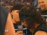 HBK kicks Booker T out of nWo