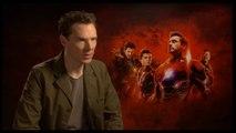ريا تحاور Benedict Cumberbatch حول دوره في Avengers: Infinity War
