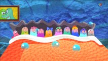 Five Little Ducks Rhyme - cinq petits canards riment - garderie comptines compilation