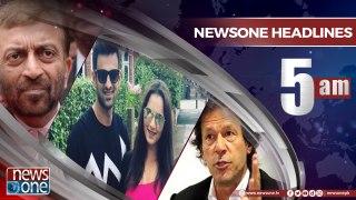 Newsone Headlines 5AM 24 April 2018