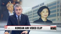 Video released that appears to show wife of Korean Air CEO harassing employees