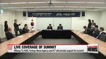 Arirang TV prepares for live coverage of 2018 Inter-Korean summit