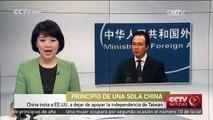 China insta a EE.UU. a dejar de apoyar la independencia de Taiwan