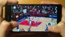 Sony Xperia Z5 Comp - NBA 2K16 - Gameplay / Test