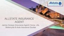 Best online Life Insurance Plan with Allstate Insurance Agent Janine Goraya