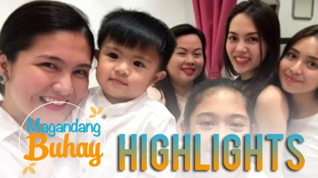 Magandang Buhay: Dimples reveals that Julia arrives first in their home