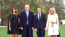 France's Macron begins first state visit with Trump