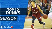 7DAYS EuroCup, Top 10 Dunks of the Season