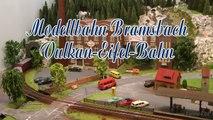 Modellbahn Bramsbach in der Vulkaneifel mit VT 98 Schienenbus in Spur H0 - Ein Video von Pennula über Modellbahnanlagen und Modelleisenbahnanlagen