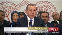 Erdogan insta a dejar de apoyar a grupos kurdos