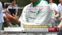 China simplifica el proceso de solicitud de residencia permanente para extranjeros