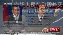 China refuta el informe del gobierno británico sobre Hong Kong