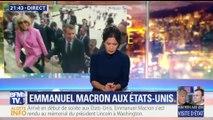 Emmanuel Macron a débuté sa visite d'État aux États-Unis (2/2)