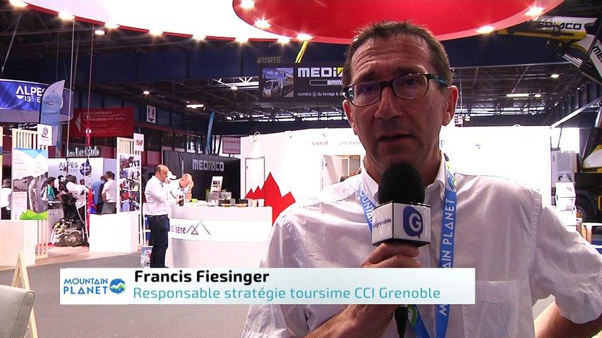 Mountain Planet 2018 - Interview de Francis Fiesinger