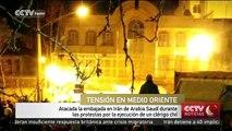 Atacada la embajada en Irán de Arabia Saudí durante las protestas por la ejecución de un clérigo